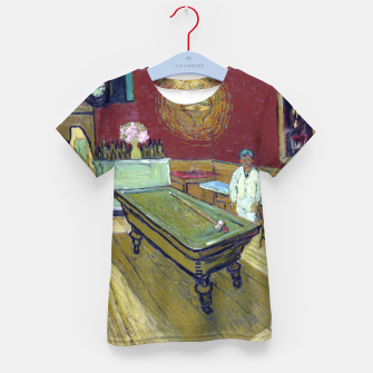 Thumbnail image of Vincent Van Gogh - The Night Cafe Kid's t-shirt, Live Heroes