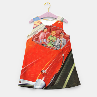 Thumbnail image of Fashion items made of Science and Mechanics cover Car of the Future Girl's summer dress, Live Heroes