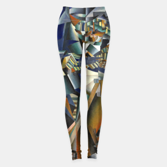 Miniature de image de Fashion products of  a Painting by Kazimir Malevich - The Knife-grinder Leggings, Live Heroes
