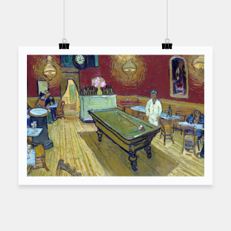 Miniatur Vincent Van Gogh - The Night Cafe Poster, Live Heroes