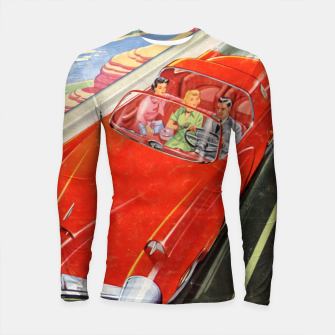 Thumbnail image of Fashion items made of Science and Mechanics cover Car of the Future Longsleeve rashguard , Live Heroes