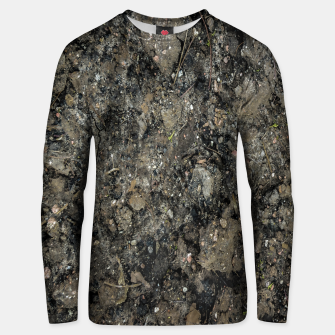 Thumbnail image of Grunge Organic Texture Print Unisex sweater, Live Heroes