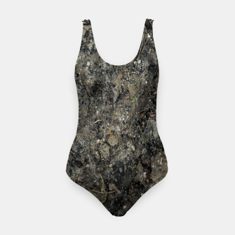 Thumbnail image of Grunge Organic Texture Print Swimsuit, Live Heroes