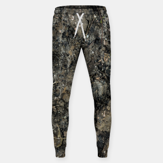 Thumbnail image of Grunge Organic Texture Print Sweatpants, Live Heroes