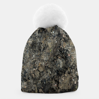 Thumbnail image of Grunge Organic Texture Print Beanie, Live Heroes