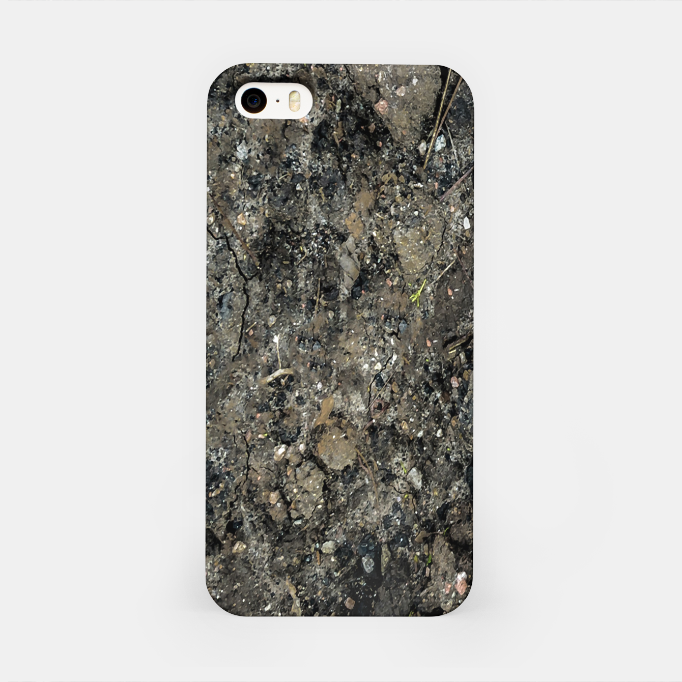 Image of Grunge Organic Texture Print iPhone Case - Live Heroes