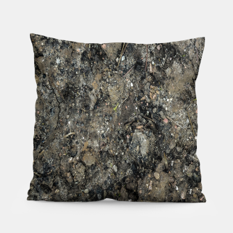Thumbnail image of Grunge Organic Texture Print Pillow, Live Heroes