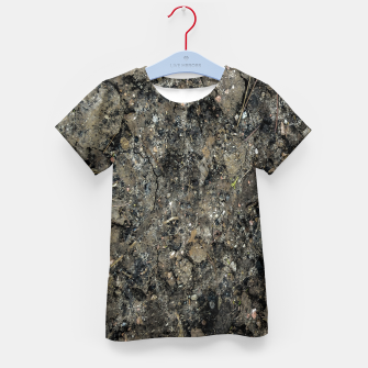 Thumbnail image of Grunge Organic Texture Print Kid's t-shirt, Live Heroes