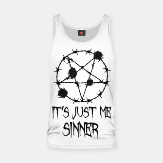 Thumbnail image of sinner Tank Top, Live Heroes
