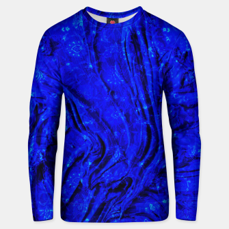 Miniaturka Indigo Antique Blue Moroccan Glowing Brushes  Unisex sweater, Live Heroes