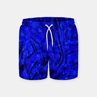 Miniaturka Indigo Antique Blue Moroccan Glowing Brushes  Swim Shorts, Live Heroes