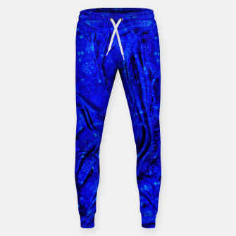 Miniatur Indigo Antique Blue Moroccan Glowing Brushes  Sweatpants, Live Heroes