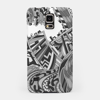 Miniatur Wandering 01: grayscale Samsung Case, Live Heroes