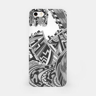 Thumbnail image of Wandering 01: grayscale iPhone Case, Live Heroes