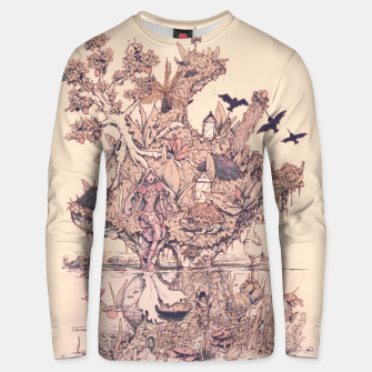 Thumbnail image of Fig Tree Island Unisex sweater, Live Heroes
