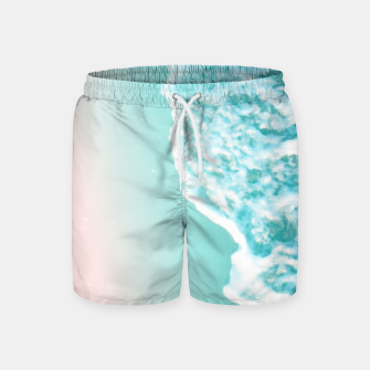 Miniatur Turquoise Blush Ocean Dream #1 #water #decor #art  Badeshorts, Live Heroes
