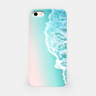 Turquoise Blush Ocean Dream #1 #water #decor #art  iPhone-Hülle obraz miniatury