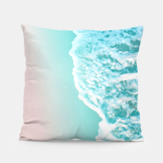 Thumbnail image of Turquoise Blush Ocean Dream #1 #water #decor #art  Kissen, Live Heroes