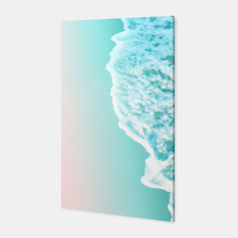 Miniatur Turquoise Blush Ocean Dream #1 #water #decor #art  Canvas, Live Heroes