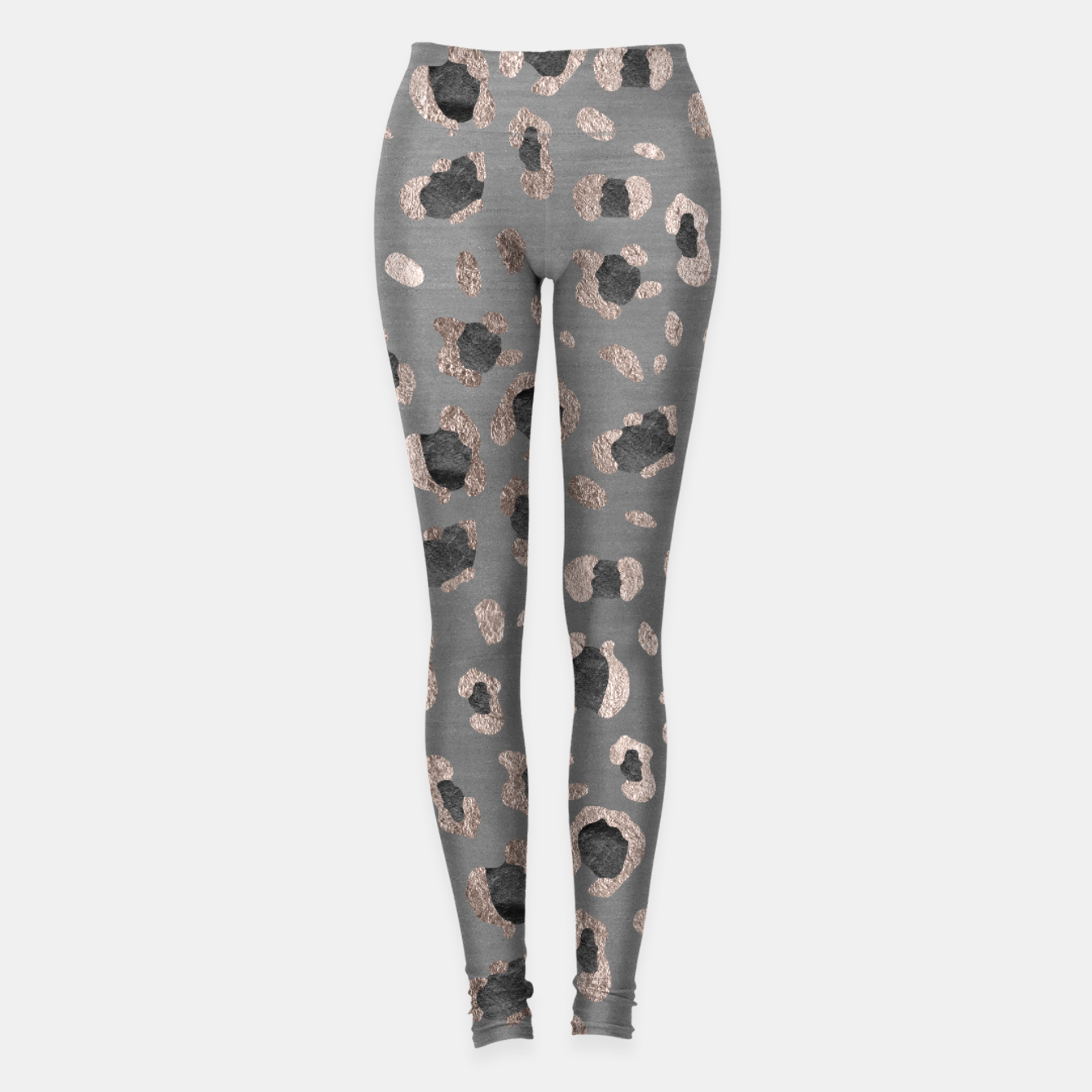Image of Leopard Animal Print Glam #6 #shiny #pattern #decor #art Leggings - Live Heroes