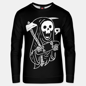Thumbnail image of Grim Skater Unisex sweater, Live Heroes