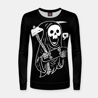 Thumbnail image of Grim Skater Women sweater, Live Heroes