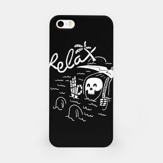 Miniatur Relax iPhone Case, Live Heroes