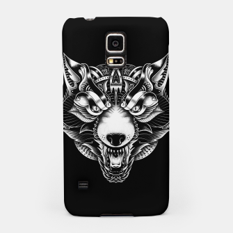 Miniaturka Angry Wolf Ornate Samsung Case, Live Heroes