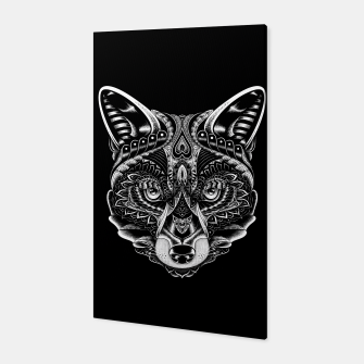 Miniature de image de Fox Ornate Canvas, Live Heroes