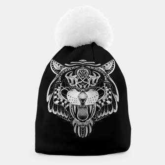 Miniatur Tiger Ornate Beanie, Live Heroes