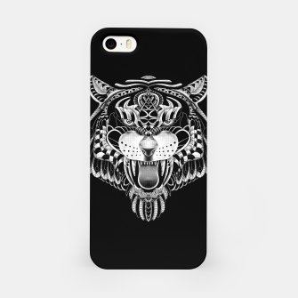 Miniatur Tiger Ornate iPhone Case, Live Heroes