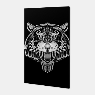Miniature de image de Tiger Ornate Canvas, Live Heroes