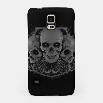 Thumbnail image of 3 Skull Samsung Case, Live Heroes