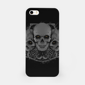 Miniatur 3 Skull iPhone Case, Live Heroes