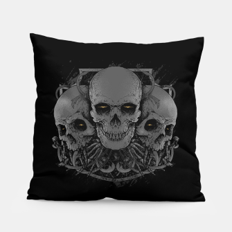 Thumbnail image of 3 Skull Pillow, Live Heroes