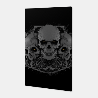 Thumbnail image of 3 Skull Canvas, Live Heroes