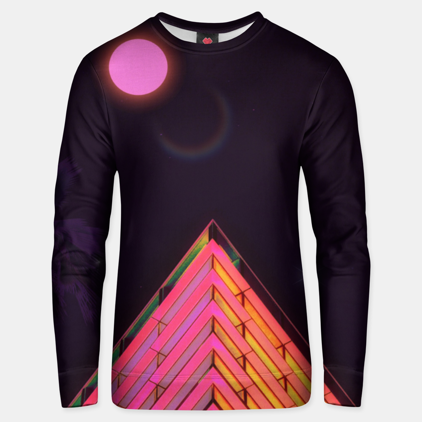 Image of Pink Night Unisex sweater - Live Heroes