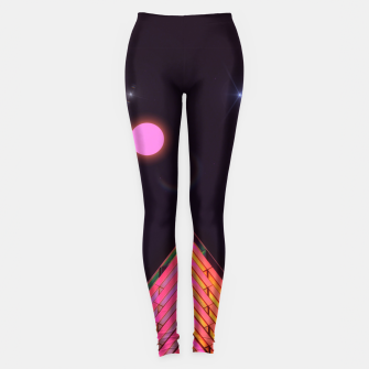Pink Night Leggings obraz miniatury