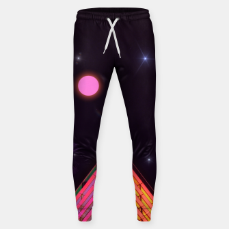 Pink Night Sweatpants obraz miniatury