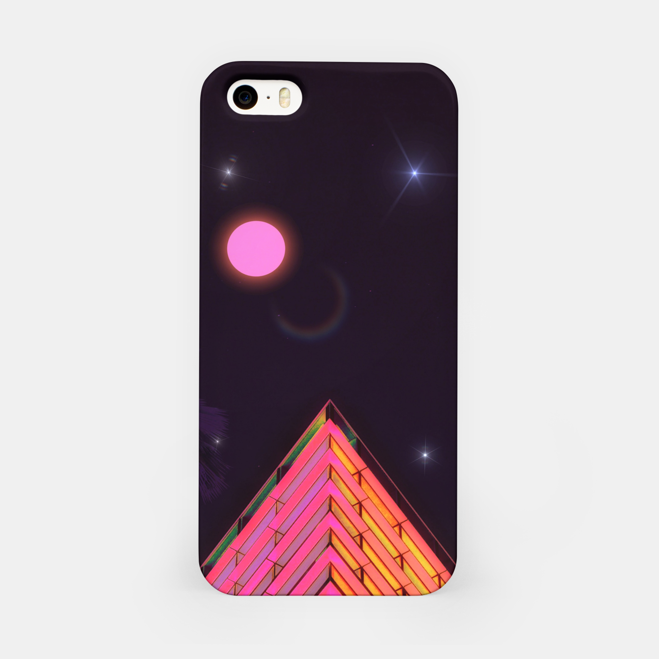 Foto Pink Night iPhone Case - Live Heroes