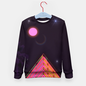 Thumbnail image of Pink Night Kid's sweater, Live Heroes