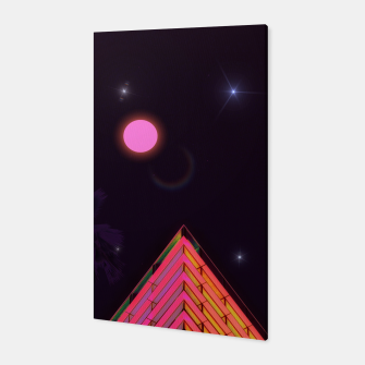 Thumbnail image of Pink Night Canvas, Live Heroes