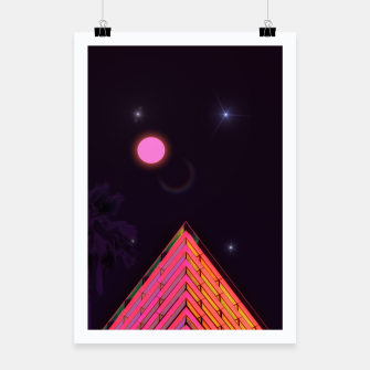 Thumbnail image of Pink Night Poster, Live Heroes