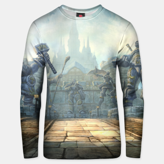 Thumbnail image of World of Warcraft Gates of Stormwind Unisex sweater, Live Heroes