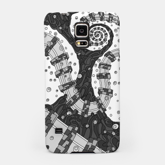 Miniatur Wandering 02: grayscale Samsung Case, Live Heroes