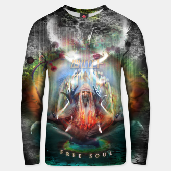 Thumbnail image of Free Soul night version Unisex sweater, Live Heroes