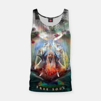 Thumbnail image of Free Soul night version Tank Top, Live Heroes