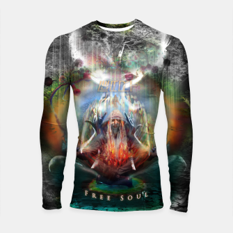 Thumbnail image of Free Soul night version Longsleeve rashguard , Live Heroes