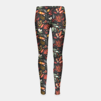 Miniatur Christmas night lit I Leggings para niña, Live Heroes