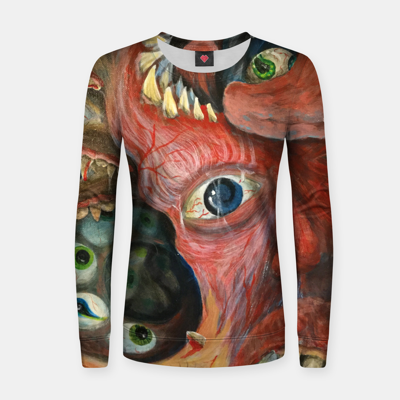 Image of Digest Your-Self Women sweater - Live Heroes